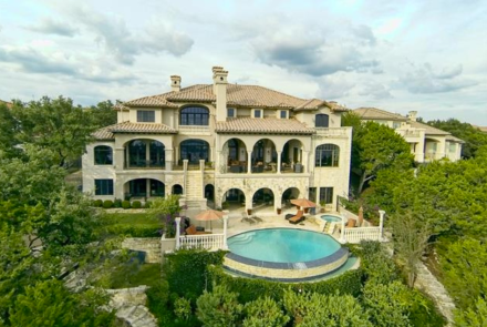 .9 Million Santa Barbara Style Waterfront Mansion In Jonestown, TX « Homes of the Rich – The Web's #1 Luxury Real Estate Blog
